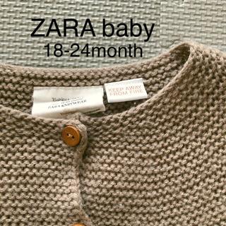 ZARA KIDS - ZARA Baby/ニットカーディガン