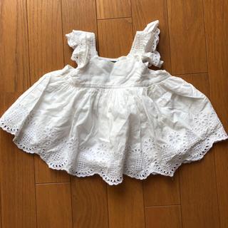 babyGAP - 刺繍のワンピース
