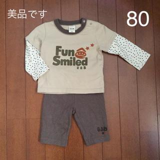 エーアーベー(eaB)の《中古品》eaB 上下セット(80)(Tシャツ)