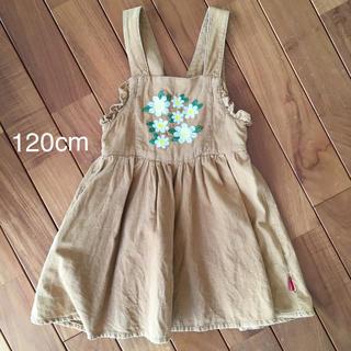 ムージョンジョン(mou jon jon)のmoujonjon ムージョンジョン  ジャンパースカート 120cm(スカート)