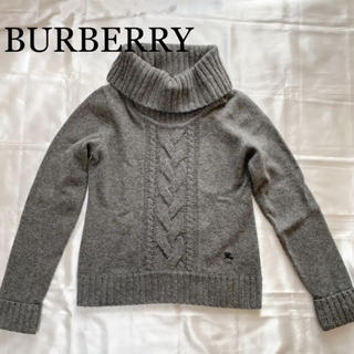 BURBERRY BLUE LABEL - バーバリー♡ロゴ入りニット