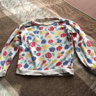 ムージョンジョン(mou jon jon)のキッズトレーナー 女児 100cm (Tシャツ/カットソー)