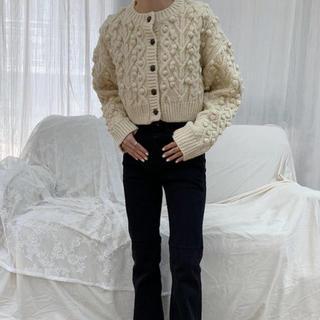 ZARA - hand knit cardigan  didot nugu bisou