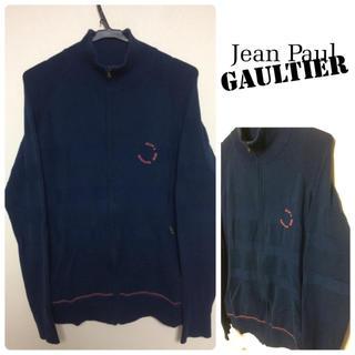 ジャンポールゴルチエ(Jean-Paul GAULTIER)のjean paul gaultier ゴルチエ ボーダー フルジップ ニット (ニット/セーター)