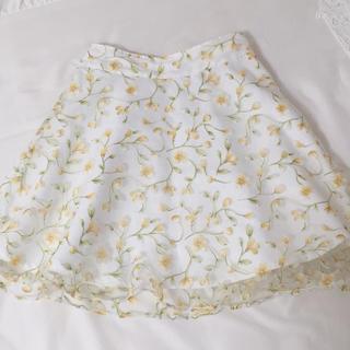 allamanda - allamanda 花柄スカート