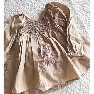 Apolina SISSY DRESS SET - BISCUIT 12-18m