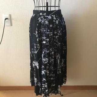 ラグナムーン(LagunaMoon)のプリーツスカート (ロングスカート)