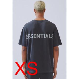 フィアオブゴッド(FEAR OF GOD)のfear of god Tシャツ essentials リフレクティブ XS 黒(Tシャツ/カットソー(半袖/袖なし))