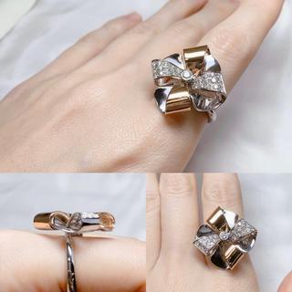 ●ルカ・カラーティ WG/PG ダイヤモンドリング(リング(指輪))