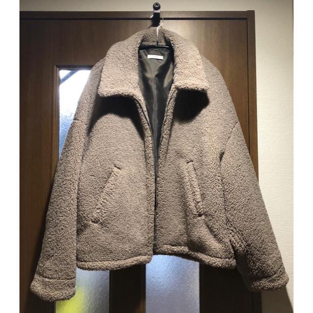 専用 最安値 lidnm ボア リドム ジャケット OVERSIZED BOA メンズのジャケット/アウター(その他)の商品写真