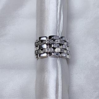 CHIMENTO k18wg ダイヤモンド リング(リング(指輪))