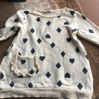 ムージョンジョン(mou jon jon)のキッズトレーナー 女児 95cm(Tシャツ/カットソー)