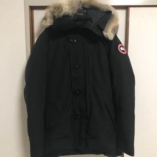 カナダグース(CANADA GOOSE)のカナダグース ジャスパー XS 黒 美中古 希少 (ダウンジャケット)