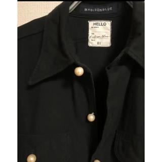 マディソンブルー(MADISONBLUE)のテディ様専用♡マディソンブルー★ パールボタンシャツ美品(シャツ/ブラウス(長袖/七分))