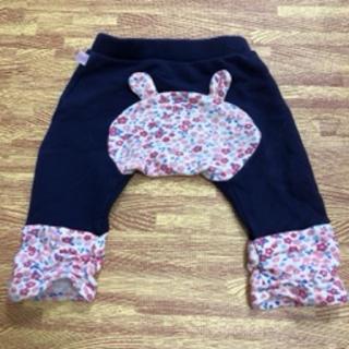 ホットビスケッツ(HOT BISCUITS)のホットビスケッツ 裾レッグウォーマー風女の子用ベビーパンツ(パンツ)