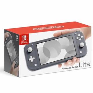 Nintendo Switch - 【新品即納】ニンテンドースイッチライト グレー