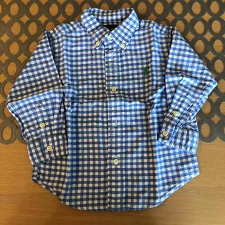 Ralph Lauren - ラルフローレン ギンガムチェックシャツ 24M