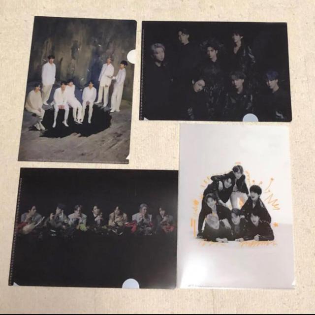 防弾少年団(BTS)(ボウダンショウネンダン)のBTS 特典 クリアファイル エンタメ/ホビーのタレントグッズ(アイドルグッズ)の商品写真