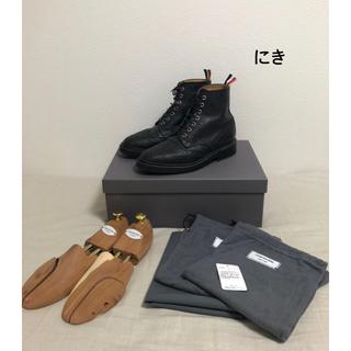 THOM BROWNE - 最終値下げ THOM BROWNE ウイングチップ ブーツ