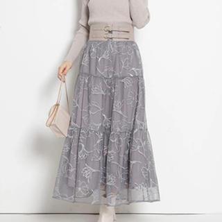 Rirandture - おまけ付き!ドローイング刺繍チュールスカート