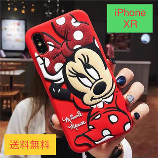 Disney - 【XR】ディズニー☆ミニー☆かわいい3Dスマホカバー☆iPhone XR用