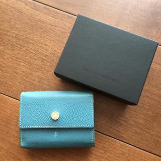 ユナイテッドアローズ(UNITED ARROWS)のユナイテッドアローズ  三つ折り ミニ財布 ミニウォレット(財布)