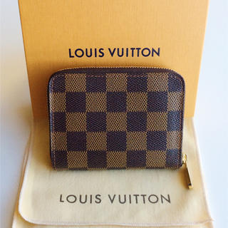LOUIS VUITTON - 極美品!ルイヴィトン ダミエ ジッピー・コインパース
