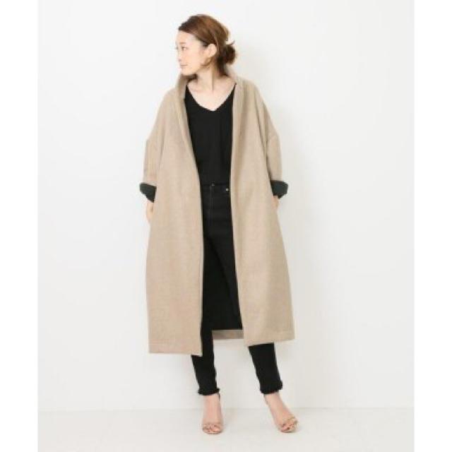 DEUXIEME CLASSE(ドゥーズィエムクラス)のドゥーズィエムクラス 購入 ギャレコデスポート レディースのジャケット/アウター(ロングコート)の商品写真