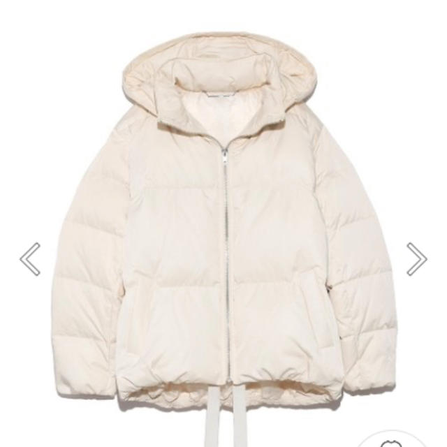 Mila Owen(ミラオーウェン)の専用ミラオーウェン 裾リボンショートダウン レディースのジャケット/アウター(ダウンジャケット)の商品写真