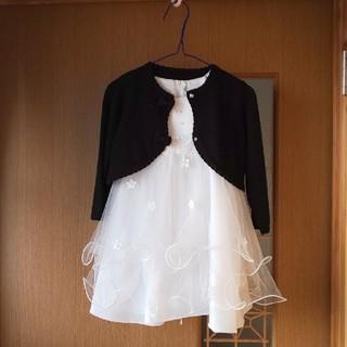 コムサイズム(COMME CA ISM)のKIDS DREAM ドレス 80 コムサ カーディガン(セレモニードレス/スーツ)