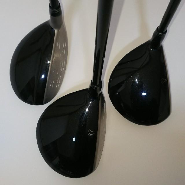 DUNLOP(ダンロップ)のゼクシオ 9ナイン フェアウェイウッド5W.7W.ユーティリティー 5U  スポーツ/アウトドアのゴルフ(クラブ)の商品写真