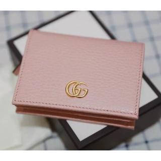 Gucci - グッチ GUCCI 折財布 PINK