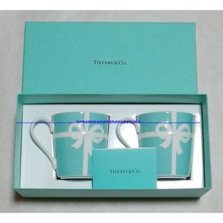 Tiffany & Co. - 新品【ティファニー】ペアマグカップ★ブルーリボン
