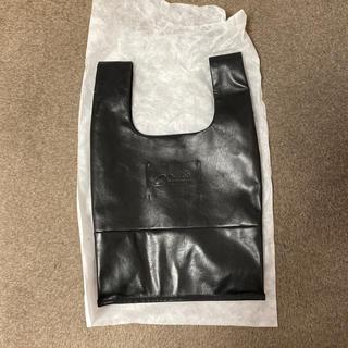 Drawer - ドゥロワー ノベルティー 黒 レザーバッグ