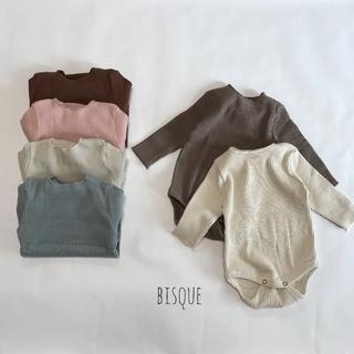 新品 リブロンパース 2枚セット 男の子 女の子 春秋冬 ベビー服 長袖 新生児