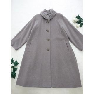 leilian - レリアン 高級ロングコート 22万 美品 アンゴラ シルクウール*フォクシー