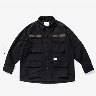 wtaps  JUNGLE LS SHIRT. COTTON. CANVAS