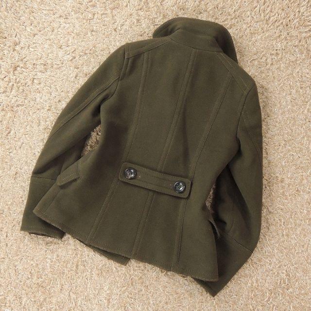23区(ニジュウサンク)の23区 ニジュウサンク メルトンPコート C7807 レディースのジャケット/アウター(ピーコート)の商品写真