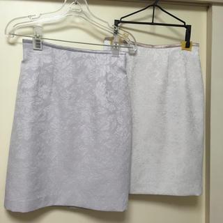 ジャスグリッティー(JUSGLITTY)のラメ生地スカート(ひざ丈スカート)