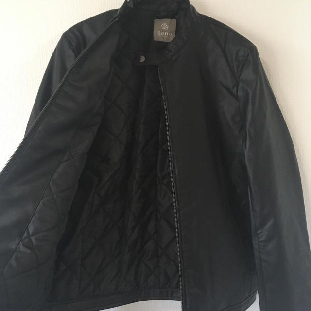 nano・universe(ナノユニバース)の【新品未使用】ナノユニバース レザージャケット メンズのジャケット/アウター(レザージャケット)の商品写真