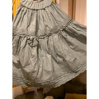 PINK HOUSE - ピンクハウスpinkhouseリボン綿ローンスカート
