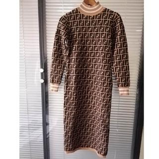 FENDI - 美品!FENDI フェンディ レディース ロングセーター ドレス