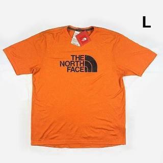 THE NORTH FACE - ノースフェイス FLASHDRY 半袖Tシャツ(L)オレンジ 180902