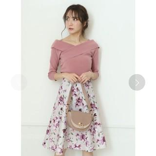 Apuweiser-riche - アプワイザーリッシェ☆新品未使用☆ぼかしフラワースカート