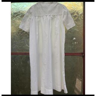 フランスアンティーク ワンピース ヴィンテージ キッズドレス ベビードレス