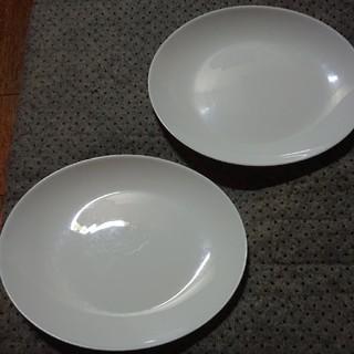 ヤマザキセイパン(山崎製パン)の送料込み❗未使用品❗ヤマザキ、白、平皿、二枚セット❗(食器)