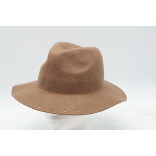 jouetie - 【HA-12】jouetie 中折れ ロングブリム ハット 帽子 キャメル