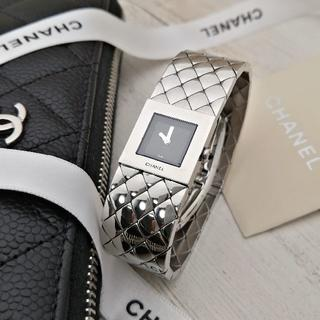 CHANEL - 極美品 シャネル マトラッセ 点検 動作確認済み 新品仕上げ レディース 腕時計