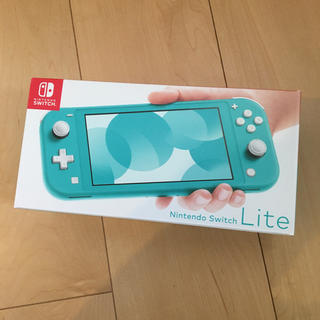 ニンテンドースイッチ(Nintendo Switch)の任天堂Switch lite ターコイズ(携帯用ゲーム機本体)
