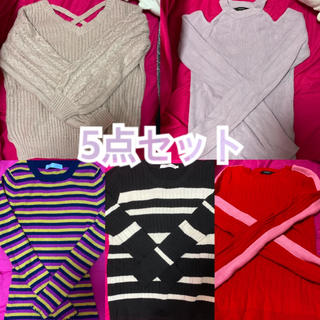 one*way - forever21♡one way♡ニット♡5点セット